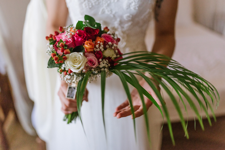 wedding bouquet bride