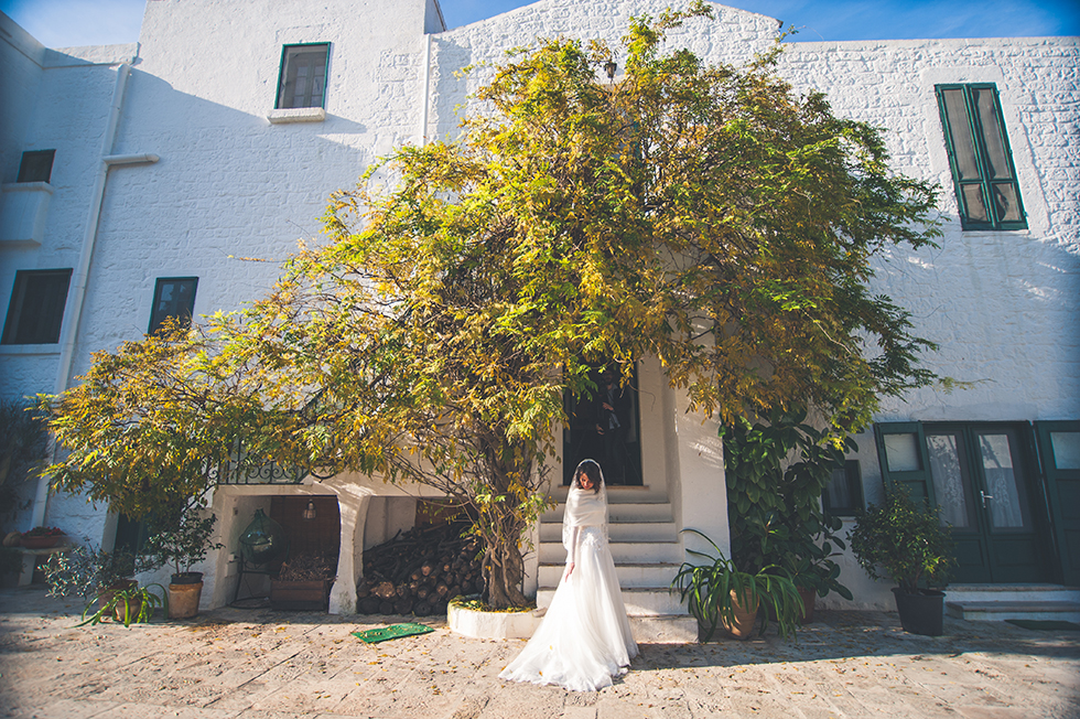Bride in Masseria