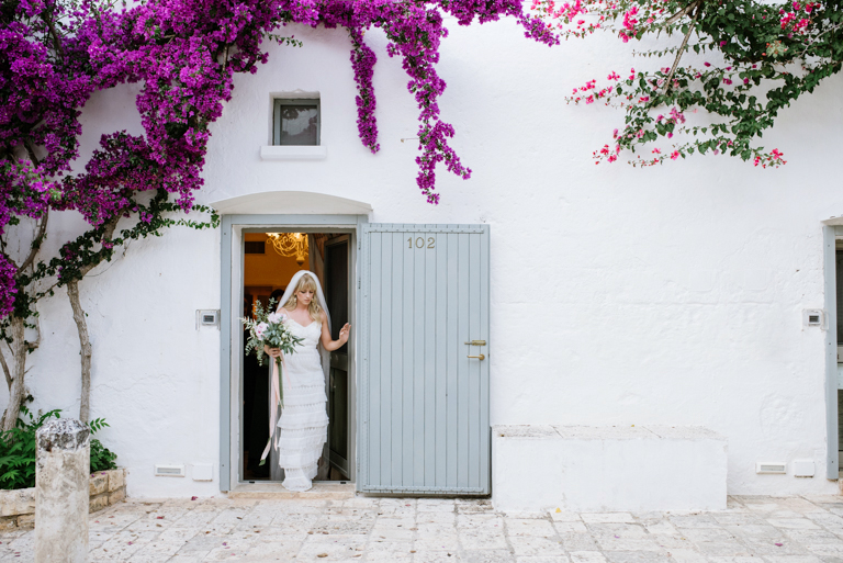 sposa matrimonio in masseria
